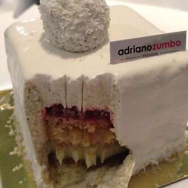 Zumbo V Vanilla Cake
