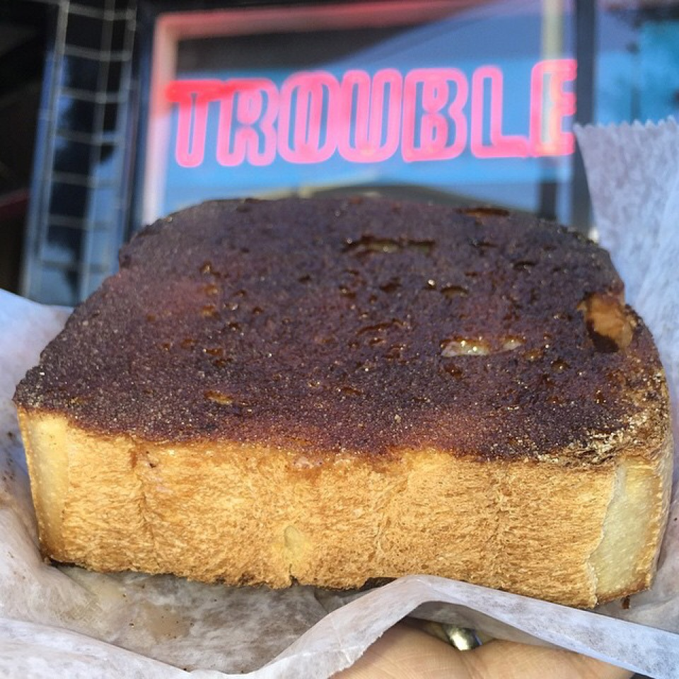 Cinnamon Toast at Trouble Coffee on #foodmento http://foodmento.com/place/4464