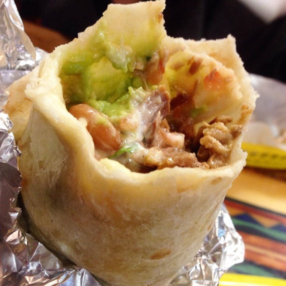Carnitas Burrito at La Taqueria on #foodmento http://foodmento.com/place/560