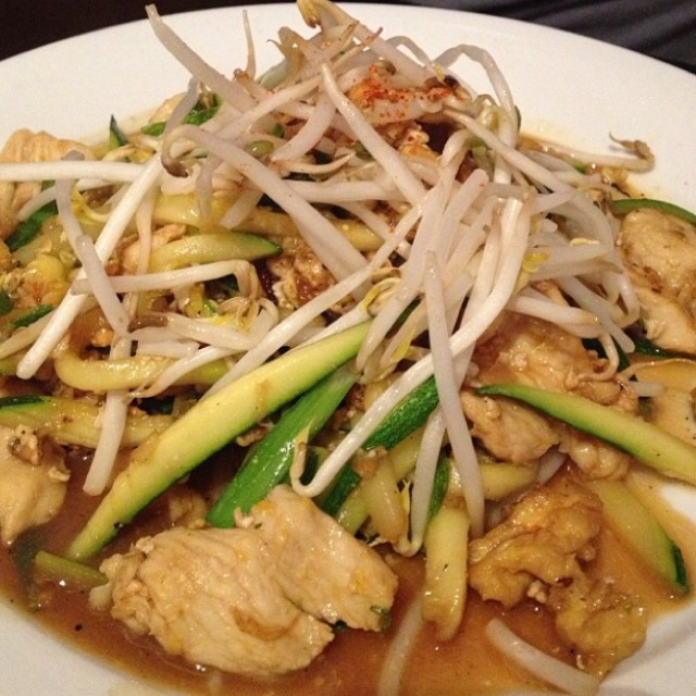 Zucchini Pad Thai at Ngam on #foodmento http://foodmento.com/place/1910