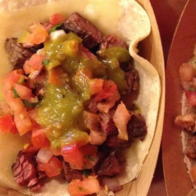 Carne Asada (Grilled Steak) Taco at Dos Toros Taquería on #foodmento http://foodmento.com/place/2894