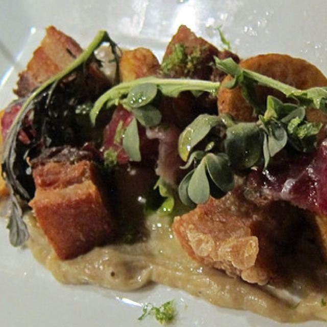 Tamarindo Pork Belly and Octopus with Butternut Squash at Casa Mono / Bar Jamon on #foodmento http://foodmento.com/place/289