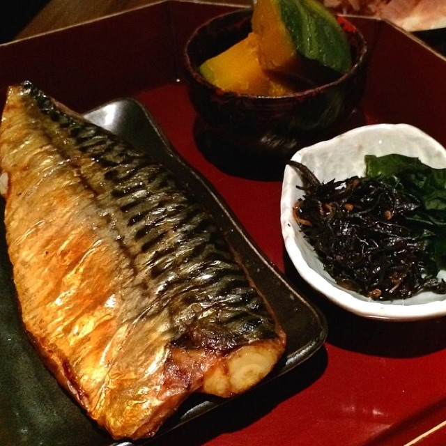 Grilled Saba (Salted Mackerel) at Ootoya on #foodmento http://foodmento.com/place/2993