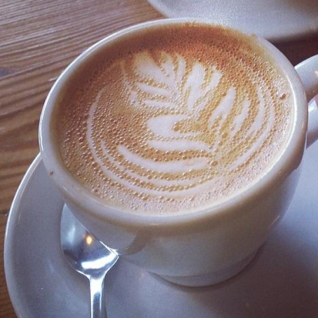 Espresso with Milk at Ninth Street Espresso on #foodmento http://foodmento.com/place/3003