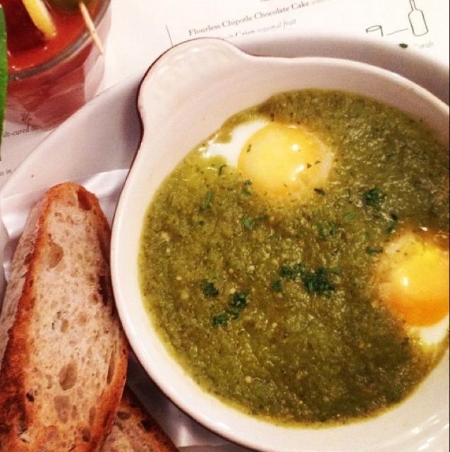 Green Shakshuka at Jack's Wife Freda on #foodmento http://foodmento.com/place/3009
