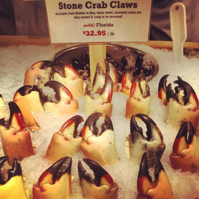 Stone Crab Claws at Lobster Place on #foodmento http://foodmento.com/place/3010