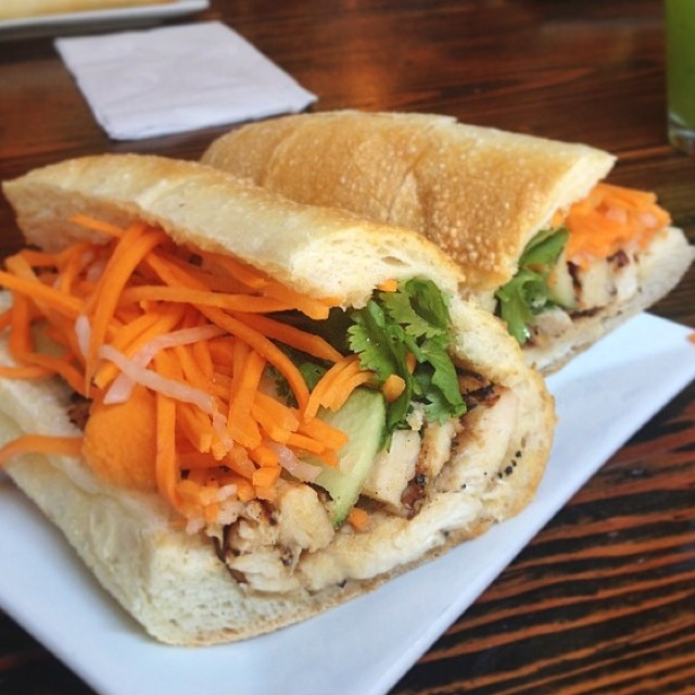 Grilled Lemongrass Chicken Banh Mi at Saigon Shack on #foodmento http://foodmento.com/place/3012