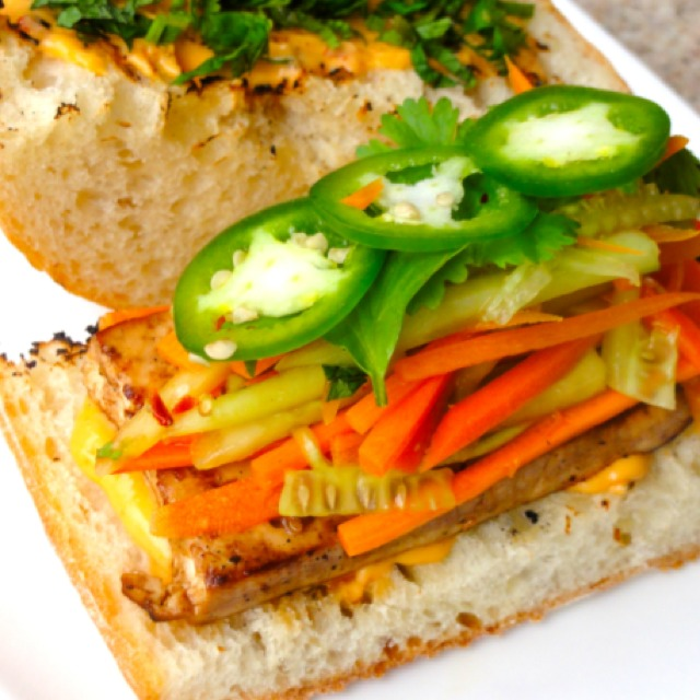 Vegetarian Banh Mi at Saigon Shack on #foodmento http://foodmento.com/place/3012