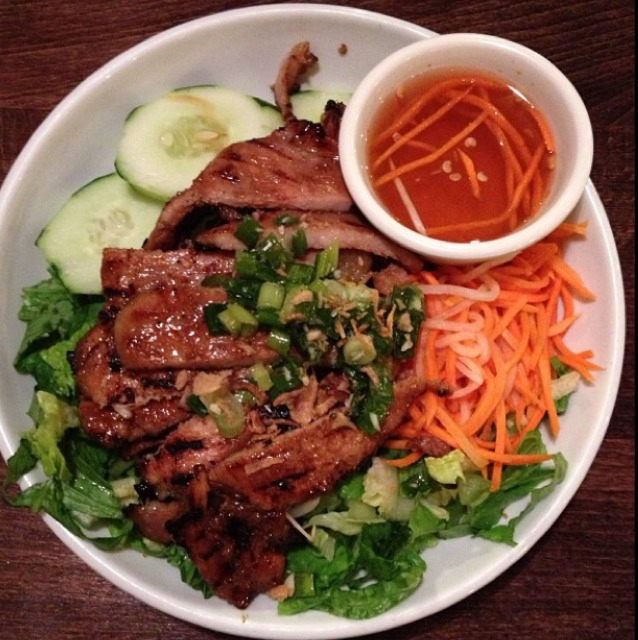 Grilled Pork Chop at Saigon Shack on #foodmento http://foodmento.com/place/3012