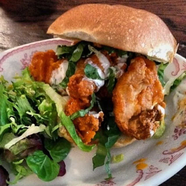Fried Chicken Sandwich at Bobwhite Counter on #foodmento http://foodmento.com/place/3015