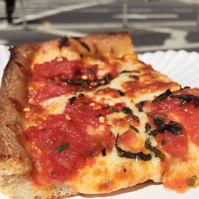 Grandma - Pizza​ at Bleecker Street Pizza on #foodmento http://foodmento.com/place/3236