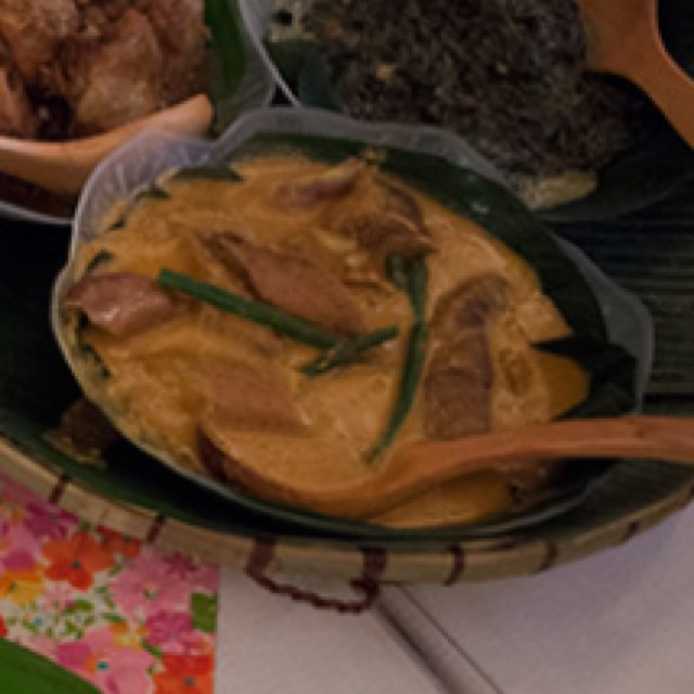 Kare Kare (Beef and Peanut Stew) at Papa's Kitchen on #foodmento http://foodmento.com/place/4153
