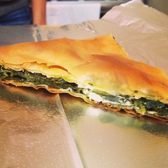 Spanakopita (Greek Spinach Pastry) at Boubouki on #foodmento http://foodmento.com/place/4260