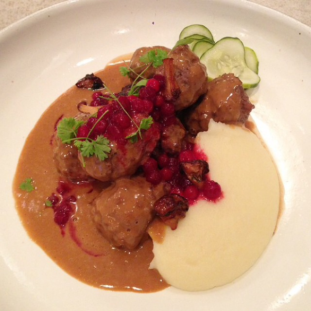 Swedish Meatballs at Aquavit on #foodmento http://foodmento.com/place/4608