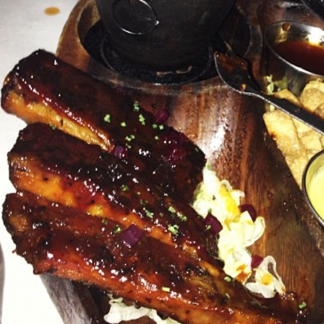 Barbeque Ribs at Blue Ribbon Brasserie on #foodmento http://foodmento.com/place/826