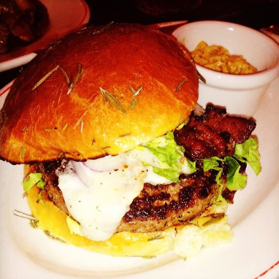 Burger at Maialino on #foodmento http://foodmento.com/place/1145