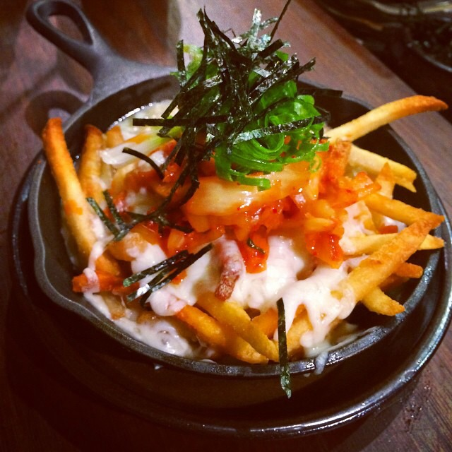 Disco Fries, Kimchi, Cheese, Ramen Gravy at Mōkbar on #foodmento http://foodmento.com/place/3541