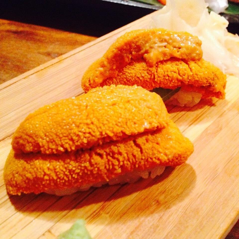 Mega Uni Sushi (Sea Urchin) at Yuba on #foodmento http://foodmento.com/place/4108