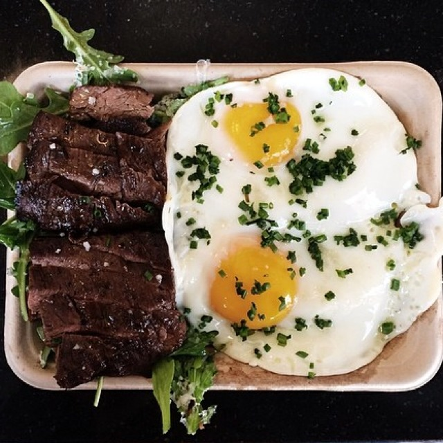 Steak & Eggs at Eggslut on #foodmento http://foodmento.com/place/2748