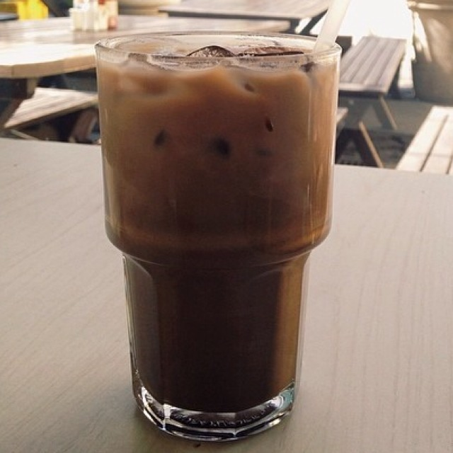 Iced Coffee Latte at Amandine Patisserie on #foodmento http://foodmento.com/place/2755