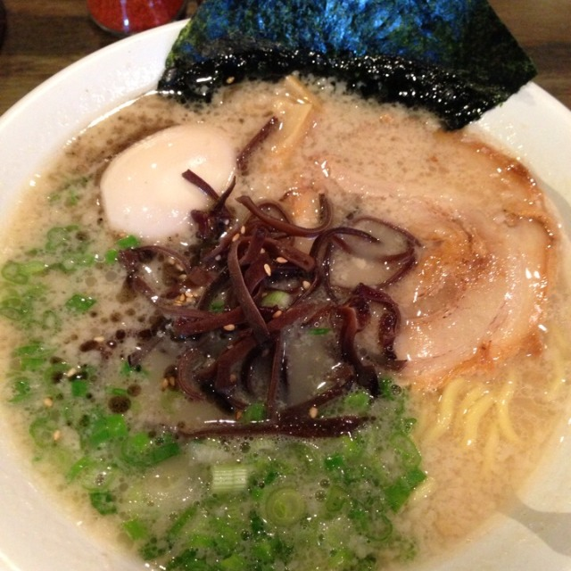 Orenchi Ramen (Tonkotsu Base ) at Orenchi Ramen on #foodmento http://foodmento.com/place/2502