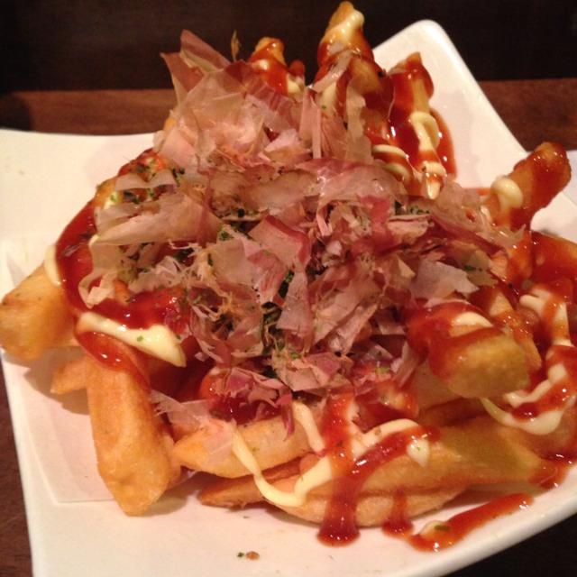 French Fries Okonomiyaki Style from Orenchi Ramen on #foodmento http://foodmento.com/dish/9280