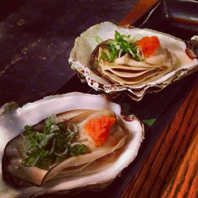 Kaki (Oysters) at Sakagura on #foodmento http://foodmento.com/place/2510