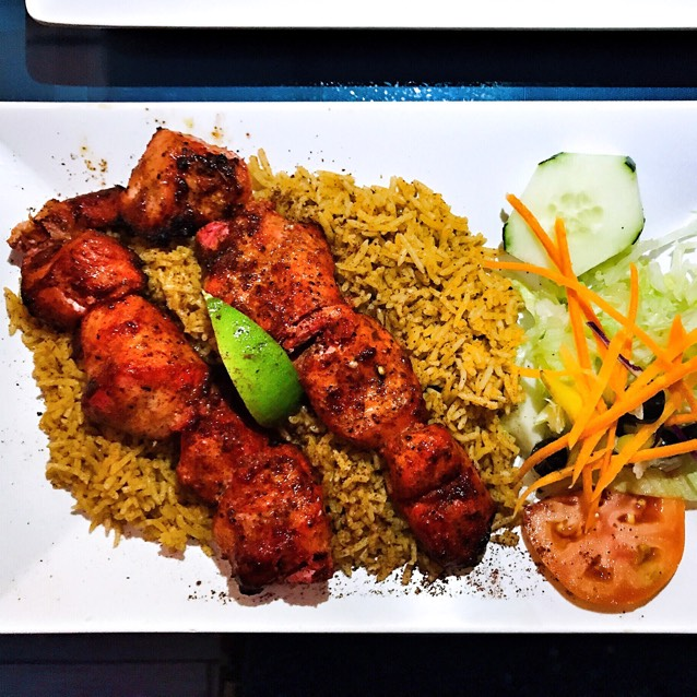 Tandoori Chicken Kebab at Afghan Kebab House on #foodmento http://foodmento.com/place/11254