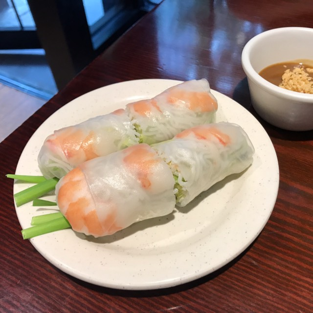 Summer Rolls at Pasteur Grill and Noodles on #foodmento http://foodmento.com/place/11324