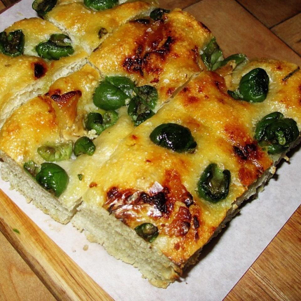 Foccacia Bread, Nocialara Olives at Rosemary's Enoteca & Trattoria on #foodmento http://foodmento.com/place/3228