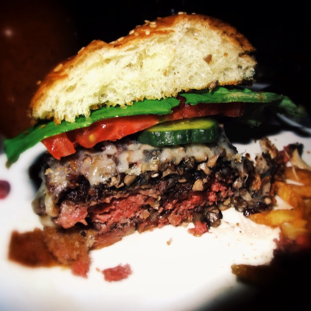 Prime Rib Burger at Cherche Midi (CLOSED) on #foodmento http://foodmento.com/place/3387