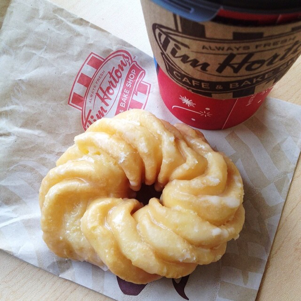 Honey Cruller - Donut at Tim Hortons on #foodmento http://foodmento.com/place/4048