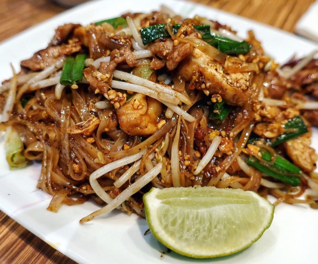 Pad Thai With Pork at Boon Chu Thai Restaurant on #foodmento http://foodmento.com/place/4378