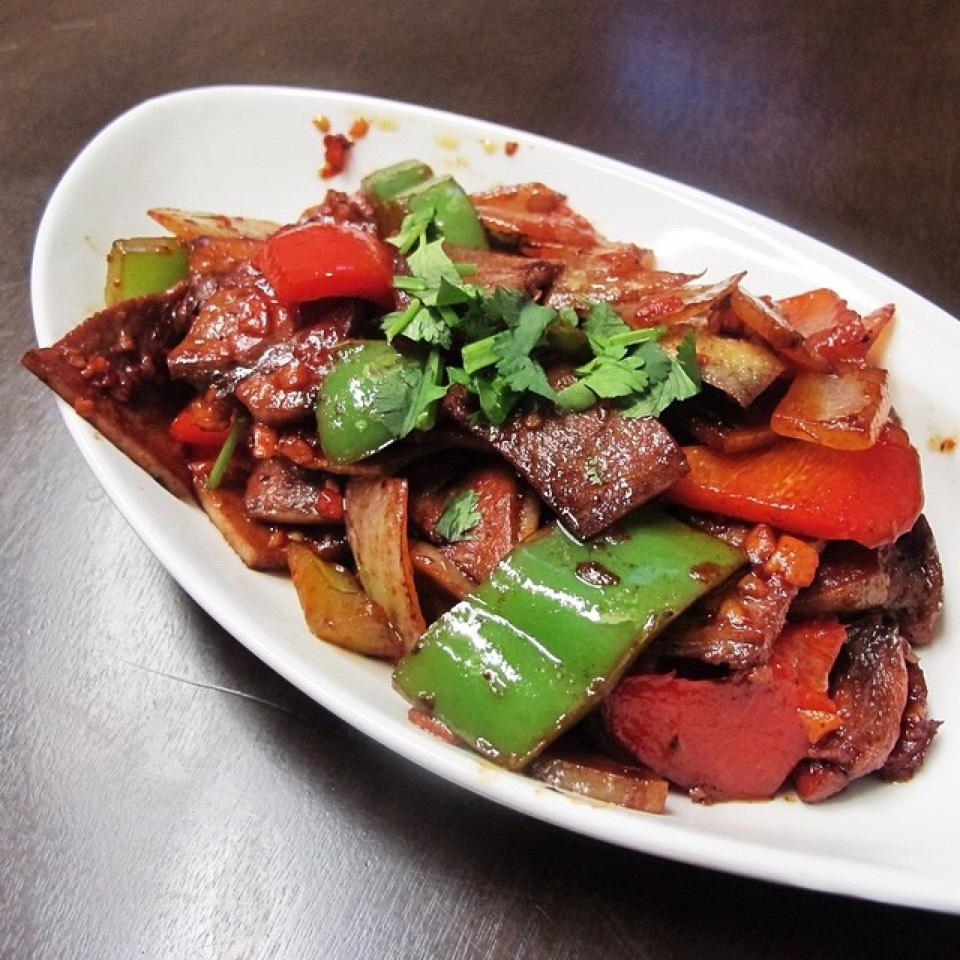 Chele Khatsa (Stir Fried Beef Tongue) on #foodmento http://foodmento.com/dish/20654