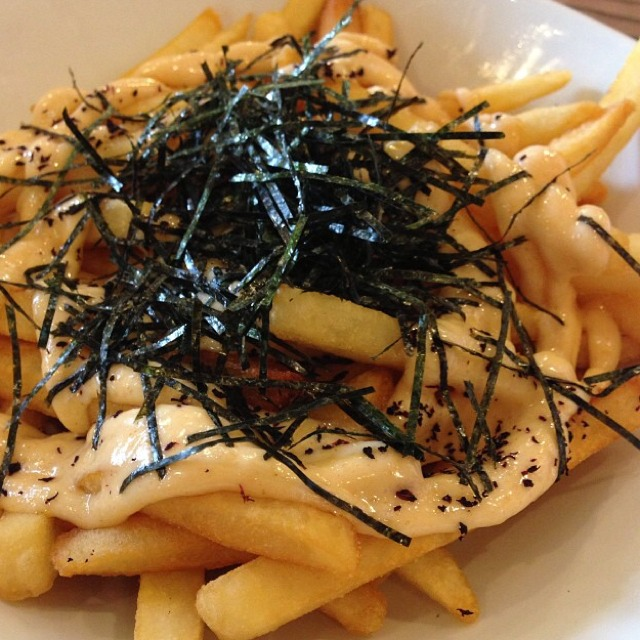 Mentaiko Fries at GRUB on #foodmento http://foodmento.com/place/1583