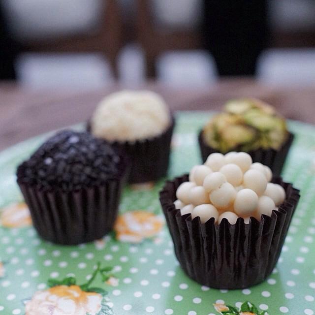 Brigadeiro (Brazilian Chocolate Bonbon) on #foodmento http://foodmento.com/dish/17479