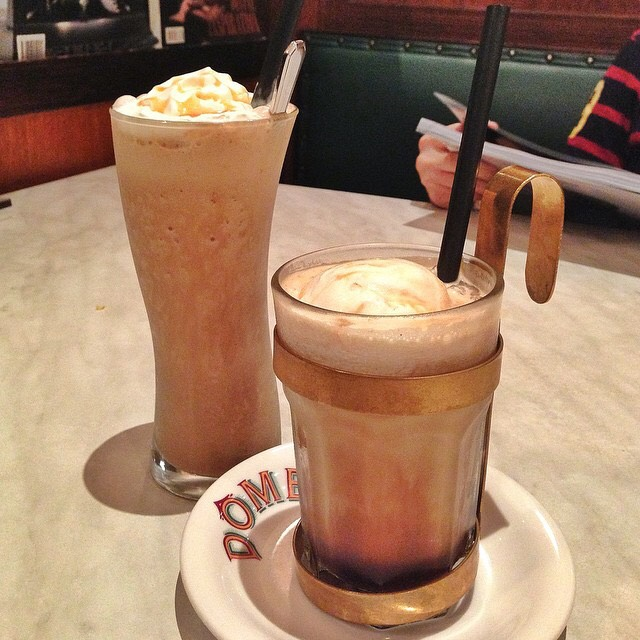 Iced Mocha With Ice Cream at Dôme Café on #foodmento http://foodmento.com/place/4289
