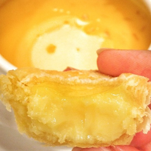 Mini Custard Egg Tart at Joyden Seafood Restaurant on #foodmento http://foodmento.com/place/4323