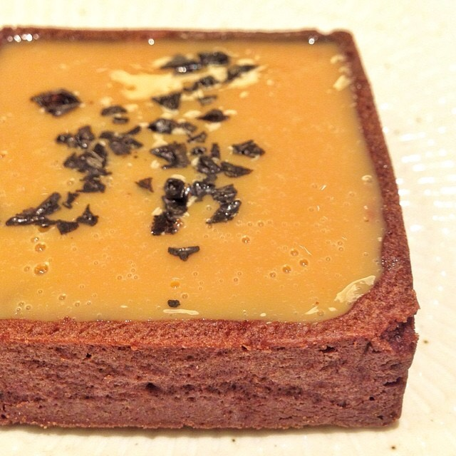Salted Caramel Tart at Bécasse Bakery on #foodmento http://foodmento.com/place/4348