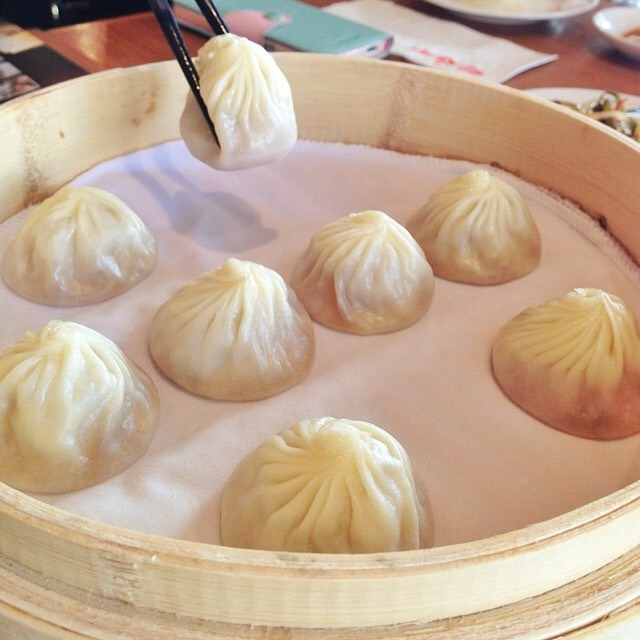 Pork Soup Dumplings (Xiao Long Bao) at Din Tai Fung 鼎泰豐 on #foodmento http://foodmento.com/place/4353