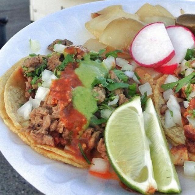 Beef & Chorizo Taco at Tacos Santiaguito on #foodmento http://foodmento.com/place/4360
