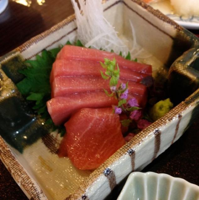 Springtime Menu (Fresh Bamboo Gohan, Grilled Seabream, Tuna Sashimi) at 柳原料理教室 on #foodmento http://foodmento.com/place/1834