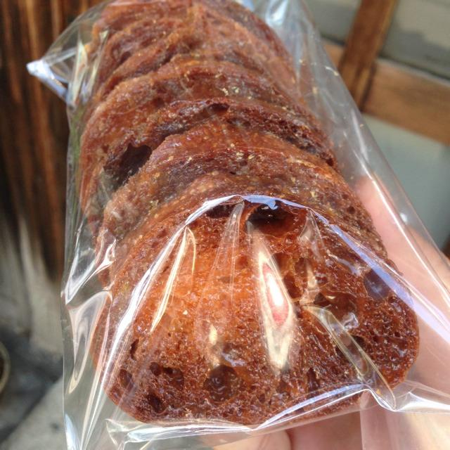 Rusk (Pain Au Sec) at BOULANGERIE BURDIGALA 広尾 on #foodmento http://foodmento.com/place/2230