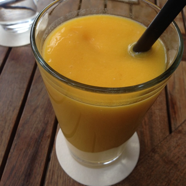 Orange & Mango Smoothie at IVY PLACE on #foodmento http://foodmento.com/place/2234