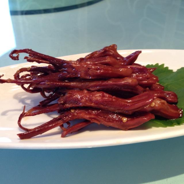 鸭舌 at 张生记 on #foodmento http://foodmento.com/place/1595