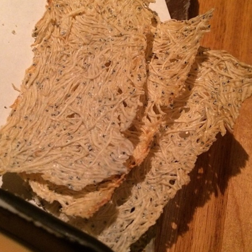 Sardine Crackers at Sakagura on #foodmento http://foodmento.com/place/2510