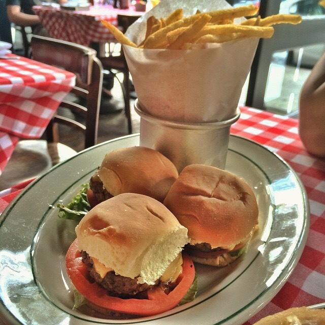 Sliders (mini Burgers) at P.J. Clarke's on #foodmento http://foodmento.com/place/2660