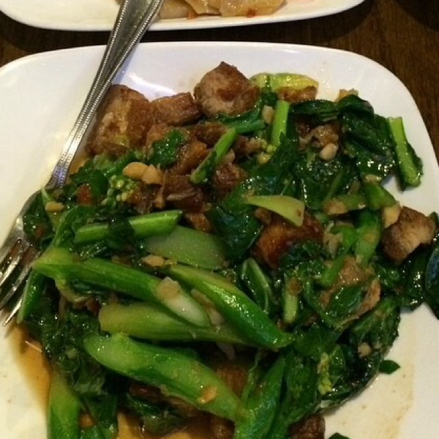 Sauté Chinese Broccoli - Ala Carte‎ at SriPraPhai Thai Restaurant on #foodmento http://foodmento.com/place/383