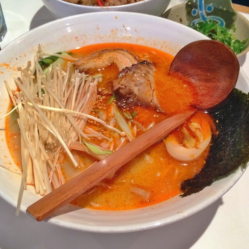 Spicy Tonkotsu Ramen - Ramen at Jin Ramen on #foodmento http://foodmento.com/place/4700
