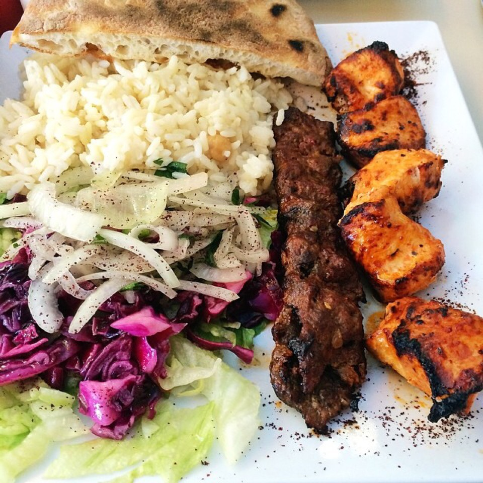 Lamb Kebabs at Hazar Turkish Kebab on #foodmento http://foodmento.com/place/4991